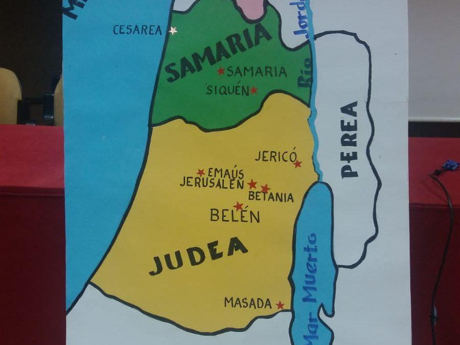 Los grupos de primaria se van a Galilea