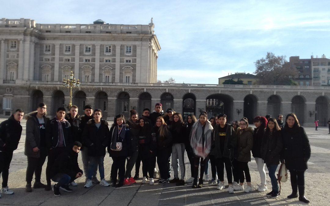 Visita Palacio Real 1º Gestión administrativa.