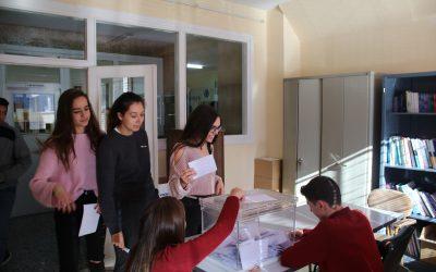 Actas de los resultados de las Elecciones al Consejo Escolar
