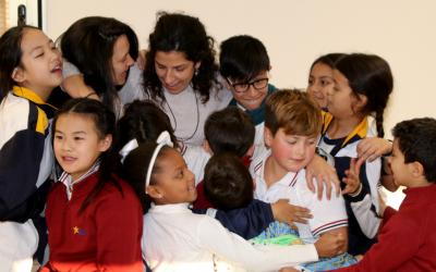 El Equipo de Misión pasa la tarde con los niños de la OSE Villena