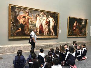 Visita al Museo del Prado 2019.