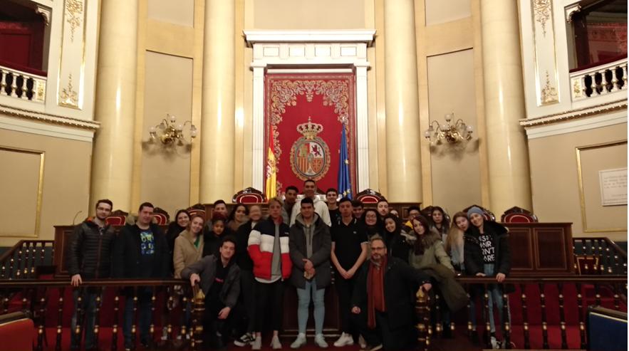 Administración y Finanzas y DEPIM en el Senado de Madrid