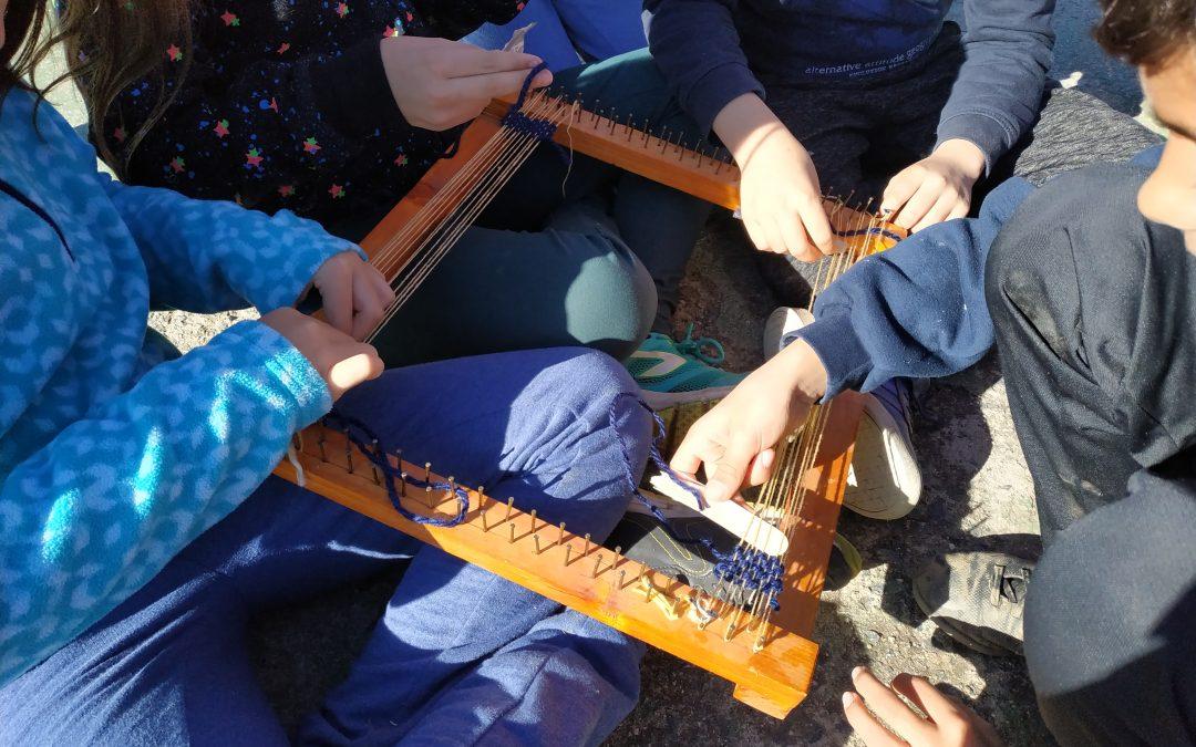 Primaria: Inmersión Lingüística 4º – ¡Aprendemos a tejer! (Jueves 7 de febrero)