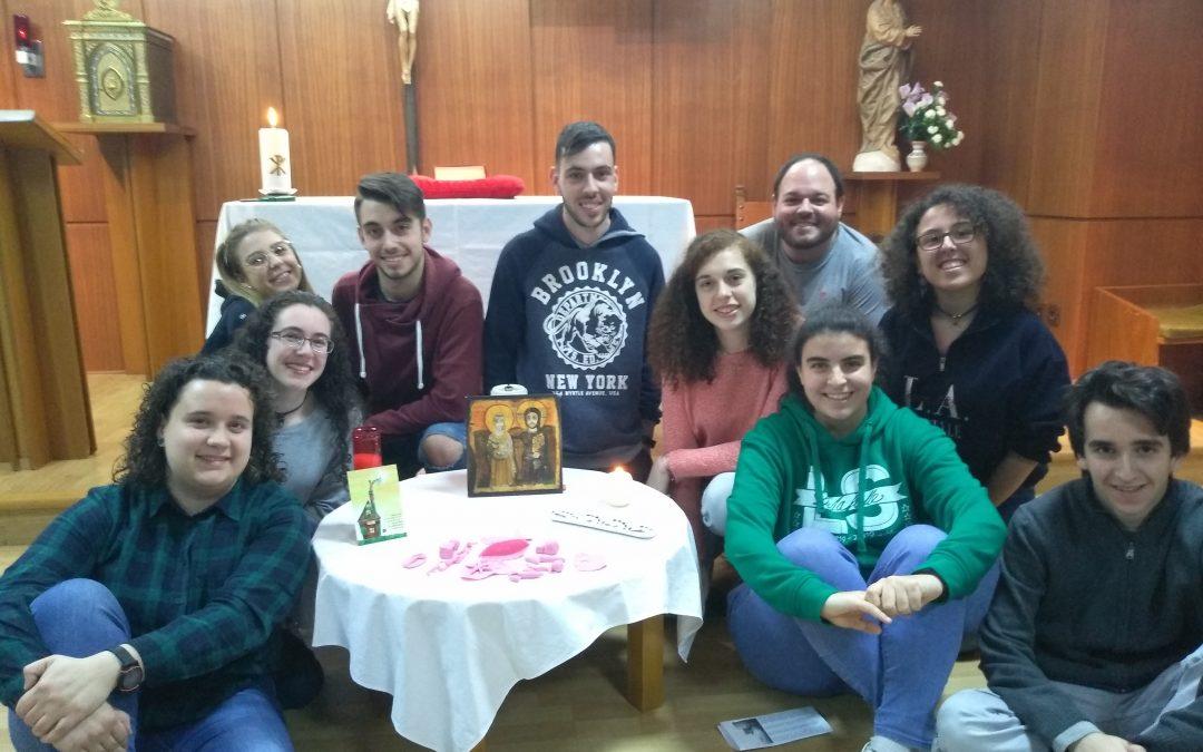 Un Grupo Cristiano en Jerusalén.