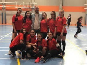 Equipo voley juvenil LSC 2018