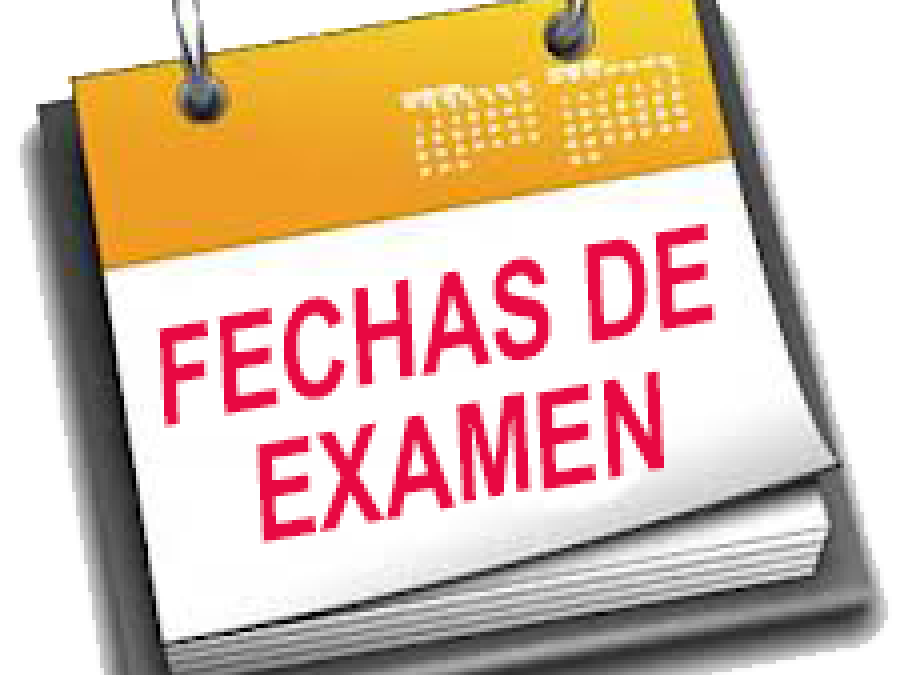 EXAMENES CONVOCATORIA ORDINARIA 1º CICLOS FORMATIVOS.
