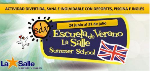 Escuela de verano La Salle/Campamento urbano Vaughan. Reunión informativa 28 Marzo a 16:15.