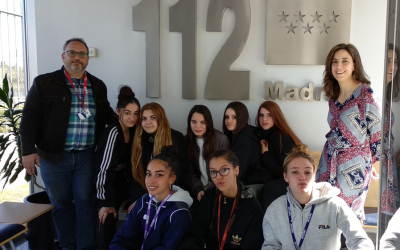 Excursión FPB Servicios Administrativos: visita al 112