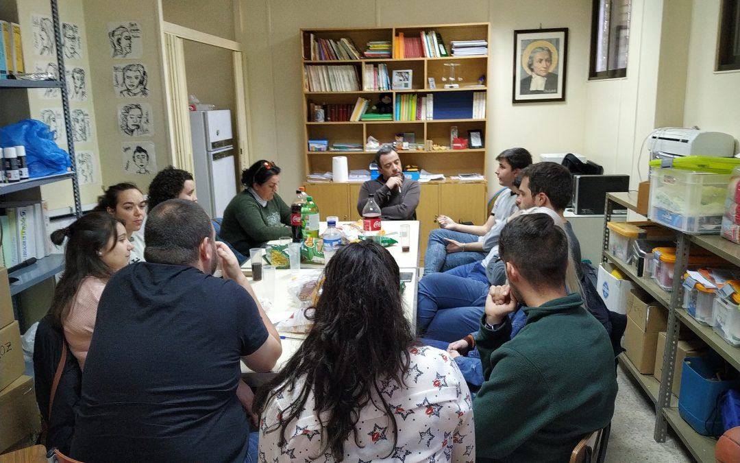 Visita del H.Jesús Salazar a los grupos cristianos.