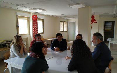 Visita nuestra obra socioeducativa el H.Nestor, secretario para la Misión y Asociación  Educativa Lasaliana.