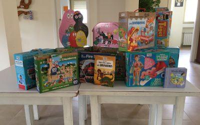 Nuevos juguetes en Villena.