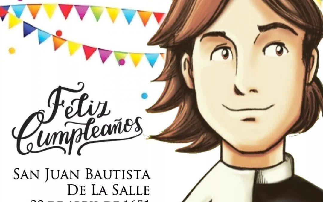 Feliz cumpleaños Juan Bautista.