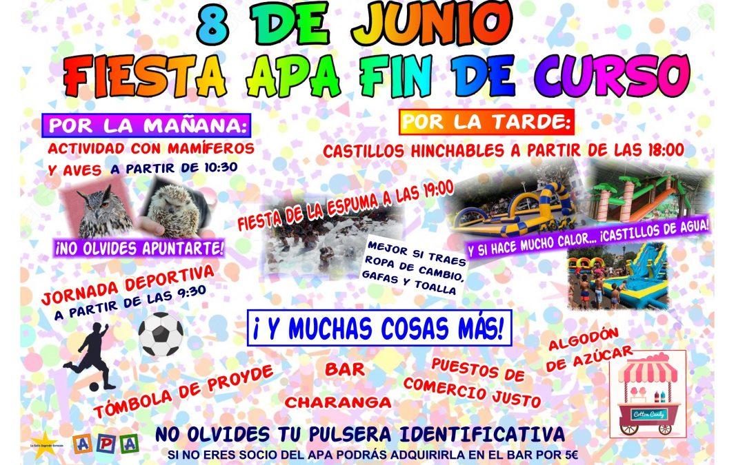 Fiesta A.P.A. La Salle fin de curso