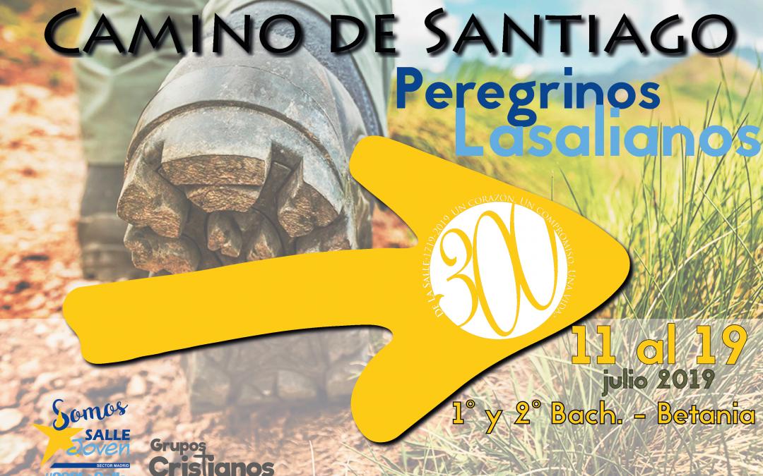 Información Camino Santiago (Betania) para 1º y 2º de Bachillerato (Grupos Cristianos).