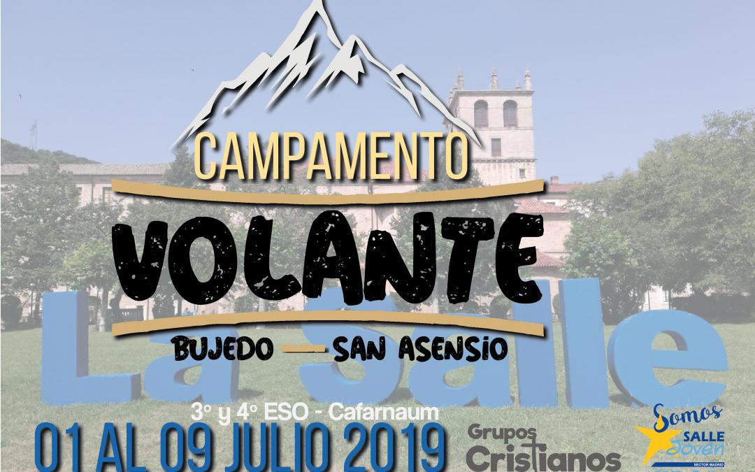 Información campamento Cafarnaún de 3º y 4º de ESO (Grupos Cristianos).