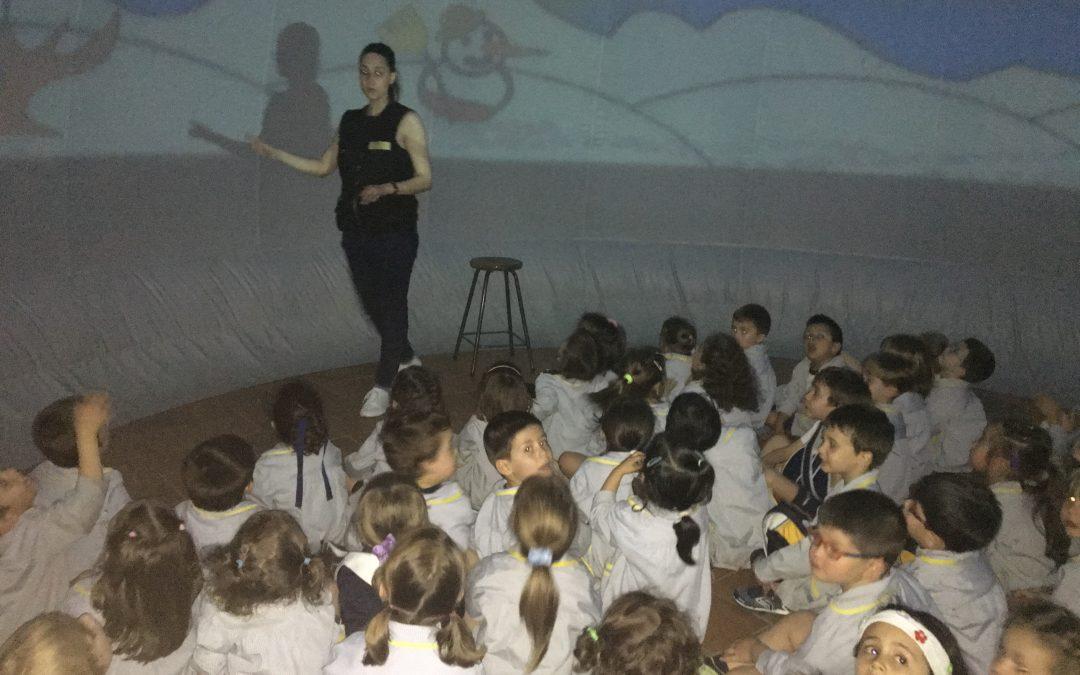 INFANTIL:Planetario en el cole