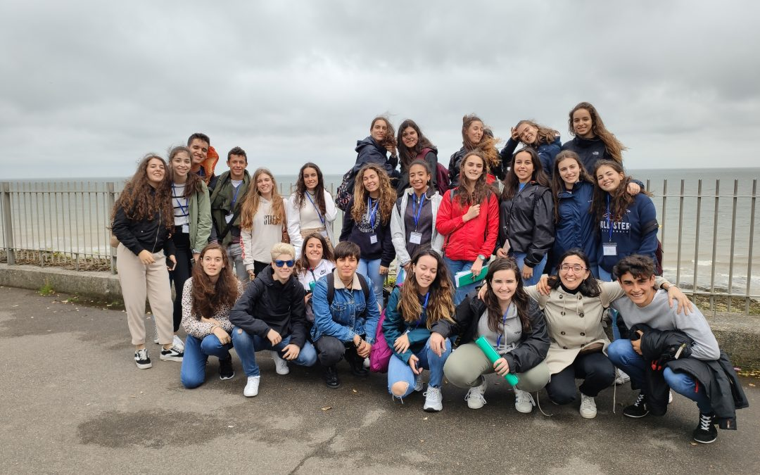 First day in Broadstairs (England)!. Bachillerato.
