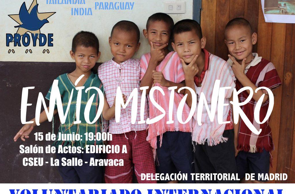 Envío Misionero.