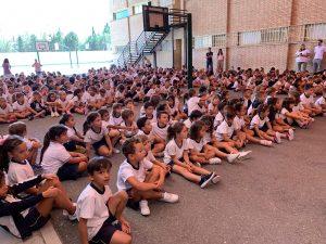 Recibimos a los alumnos de Primero