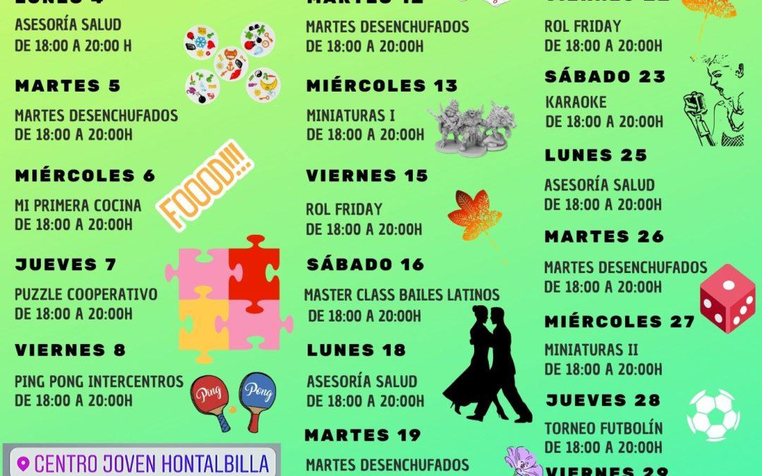 ACTIVIDADES DE OCIO GRATUITAS. 14-30 AÑOS