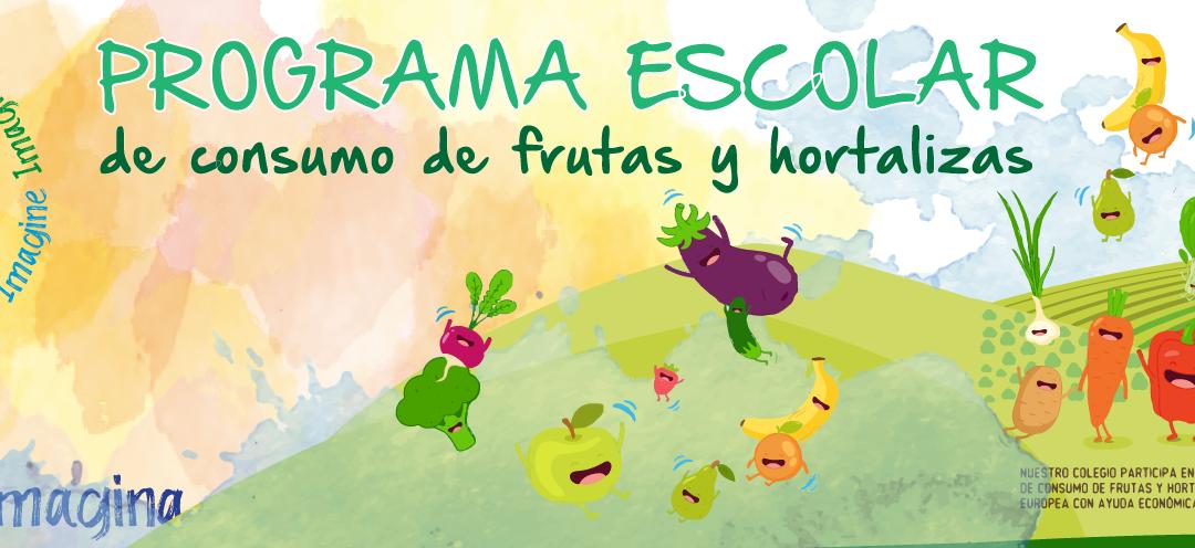 Primaria: Programa Escolar de Consumo de Frutas, Hortalizas y Leche de la Unión Europa con ayuda económica de la Unión Europea 2020.