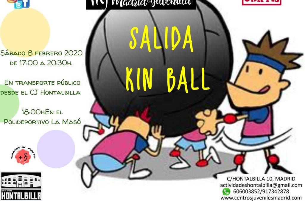 ¡¡¡NOS VAMOS A JUGAR A KIN BALL!!!