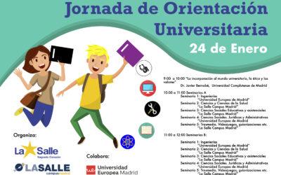 JORNADA ORIENTACIÓN UNIVERSITARIA. 24 ENERO