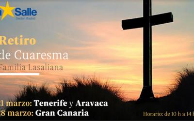 Retiro de Cuaresma para la familia lasaliana.