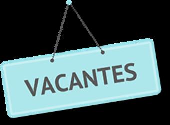 Plazas vacantes curso 2020/2021