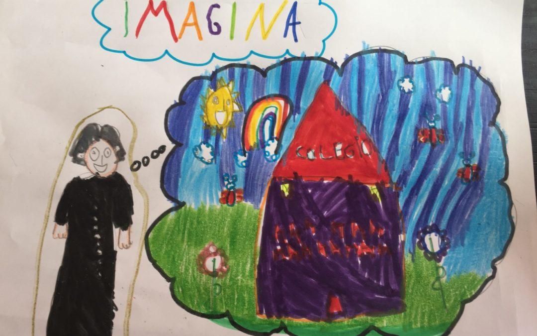 Finalistas infantil Concurso de Dibujo  #LaSallesequedaencasa