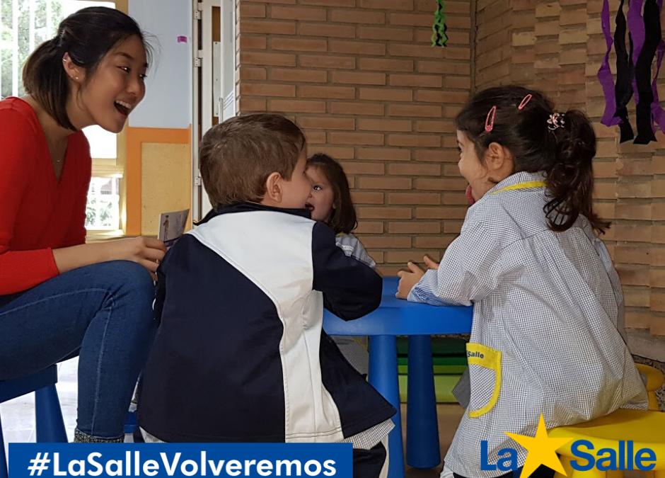 VOLVEREMOS a contar cuentos. #Imagina #LaSalleVolveremos