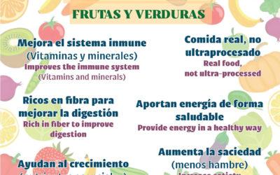 La Salle Activa recomienda el consumo de fruta por sus grandes beneficios. ¡Come Sano!