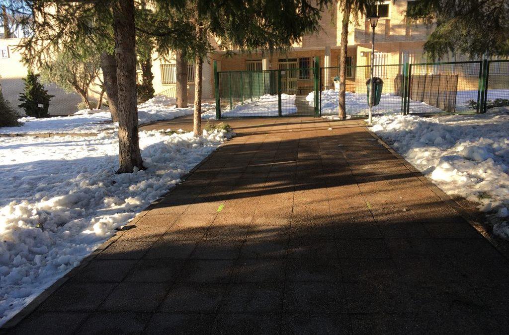 Seguimos con la limpieza de patios