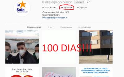 100 DÍAS en INSTAGRAM. SÍGUENOS