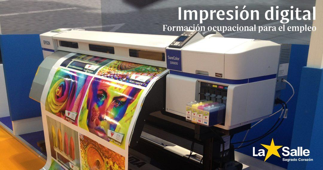 FORMACIÓN OCUPACIONAL: Impresión digital