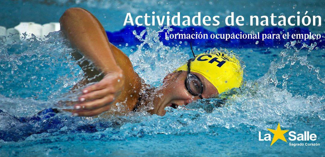 FORMACIÓN OCUPACIONAL: Actividades de natación