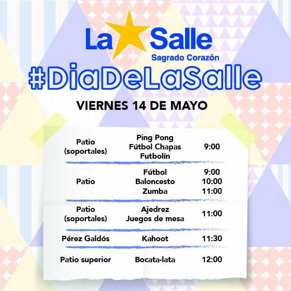 #diadelasalle.