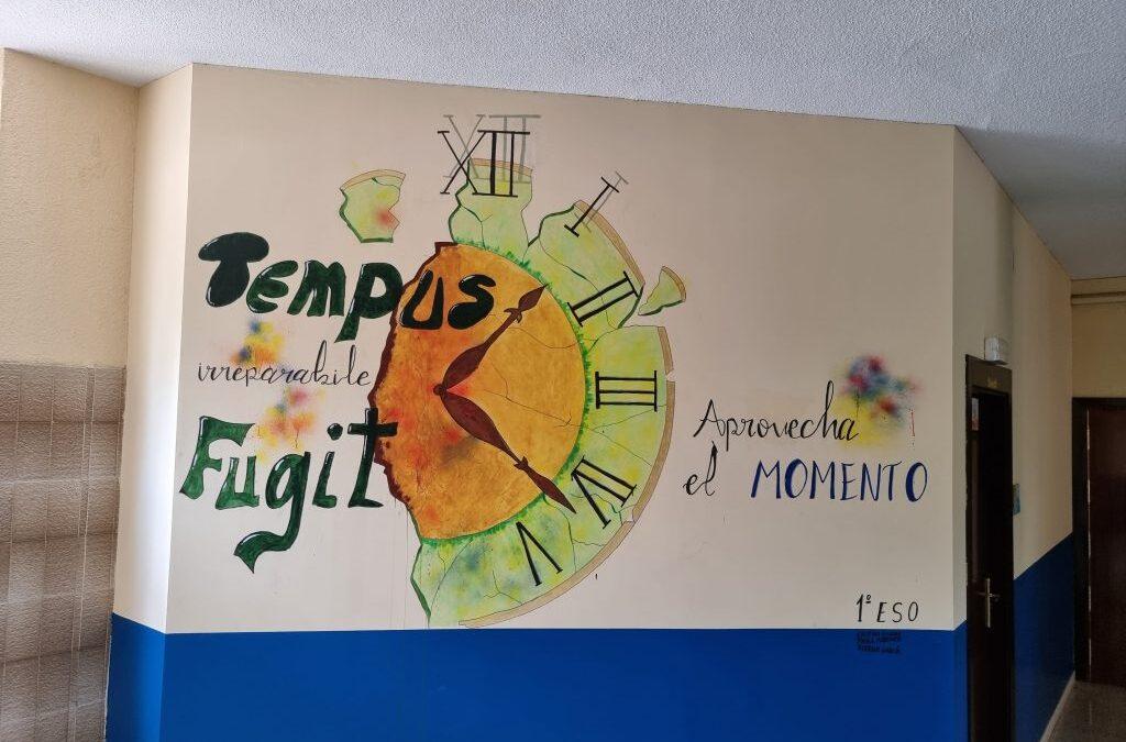 SECUNDARIA: «Tempus fugit» nuevo trabajo artístico.