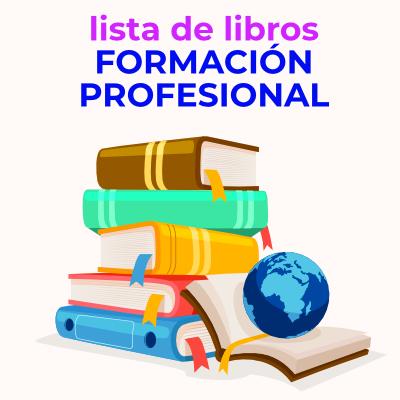 F. PROFESIONAL: listado de libros 2021/22