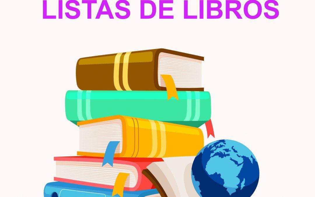 LISTAS DE LIBROS 21/22