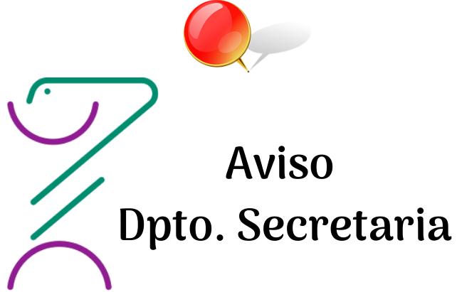 Aviso secretaría FP/Bachillerato. LUNES 20 SEPTIEMBRE